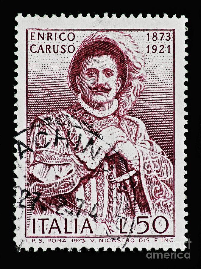 Caruso Photograph
