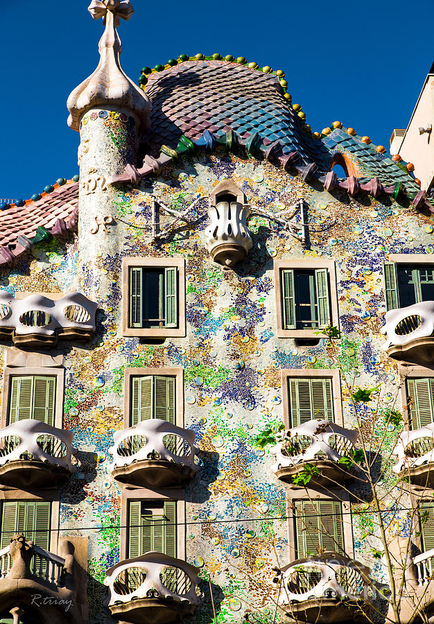 casa batllo barcelona photograph by rene triay photography