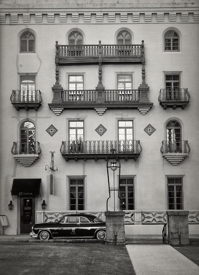 Black And White Photograph - Casa Monica by Mario Celzner