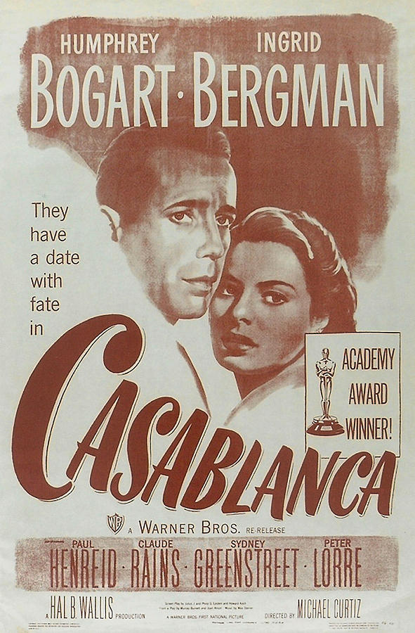 Casablanca Digital Art  - Casablanca Fine Art Print
