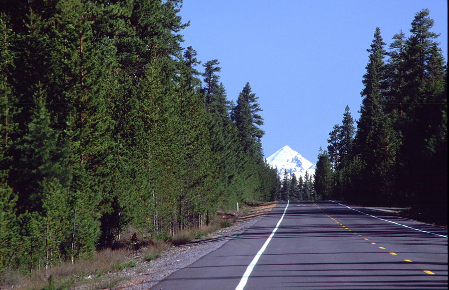 Cascade Lake Highway Photograph