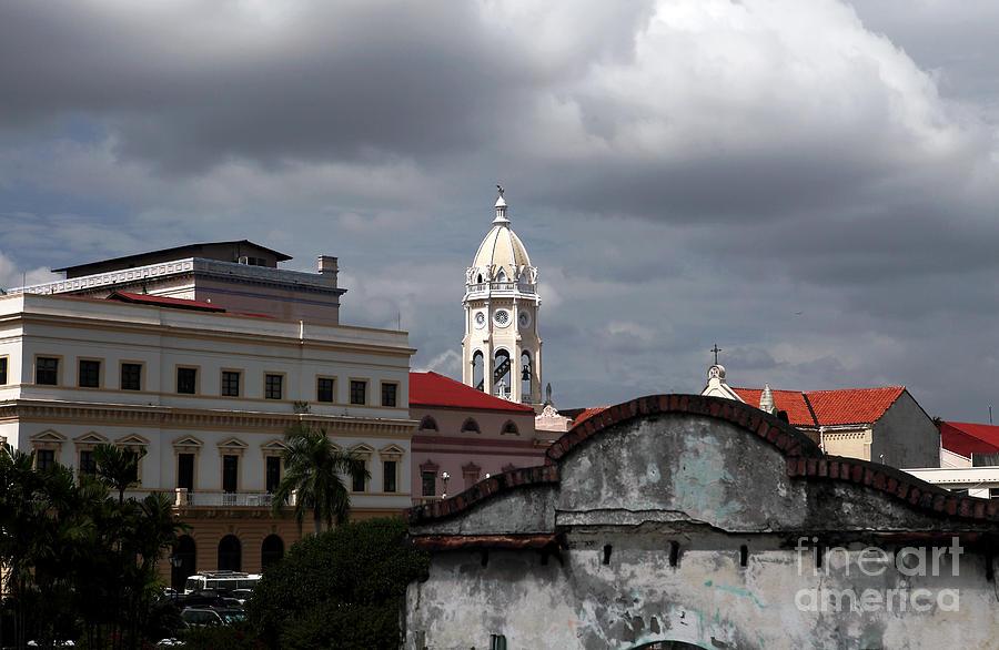 Panama Photograph - Casco Viejo by John Rizzuto