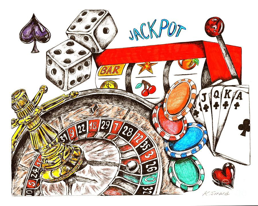 casino drawing