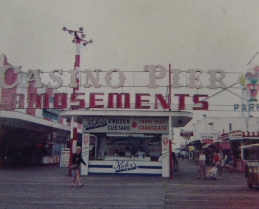Casino Pier Amusements Seaside Heights Nj Photograph