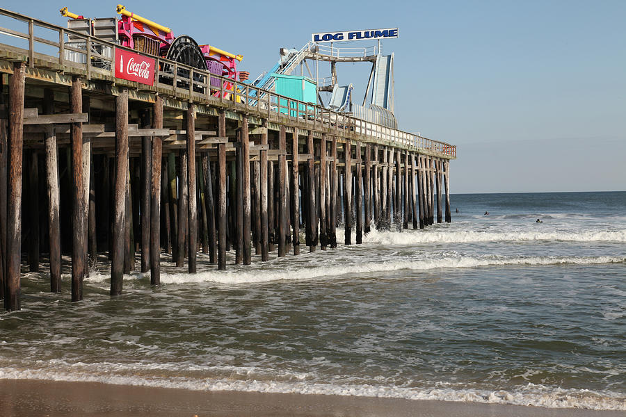 Casino Pier  Seaside  Nj Photograph  - Casino Pier  Seaside  Nj Fine Art Print