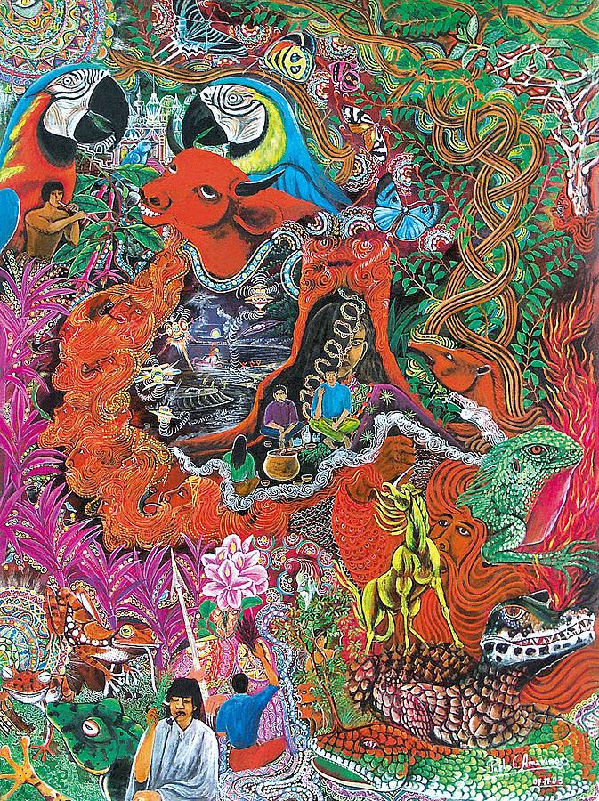 Caspi Shungu Painting