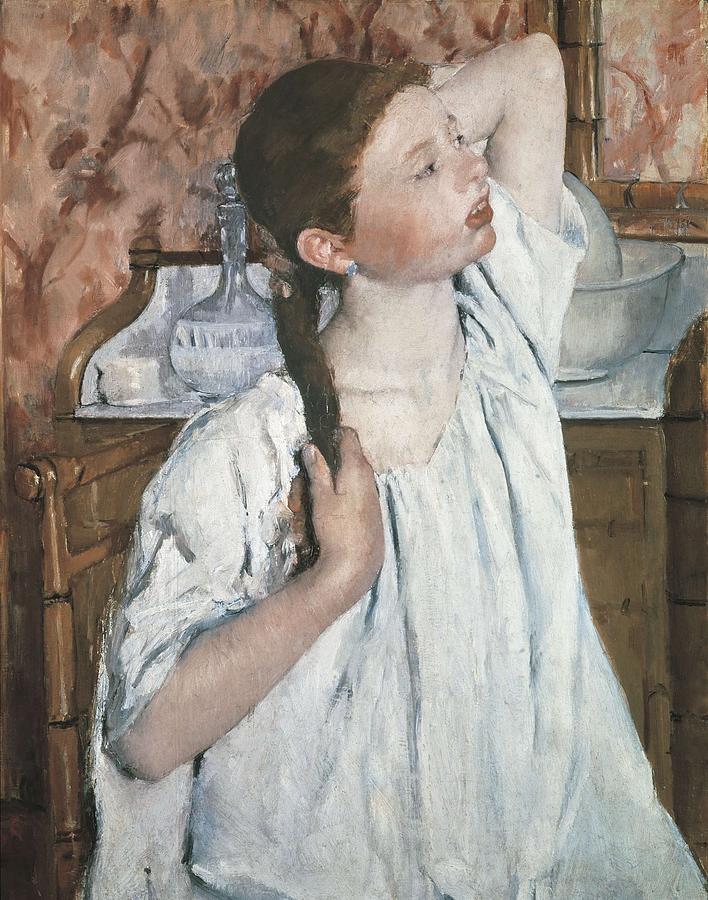 Vertical Photograph - Cassatt, Mary Stevenson 1845-1926. Girl by Everett