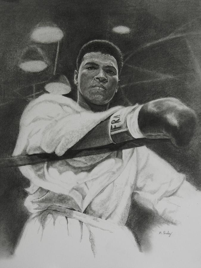 Cassius Clay Drawing