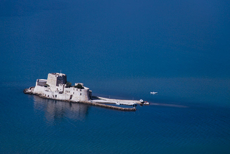 Nafplio Photograph - Castle Bourtzi by David Waldo