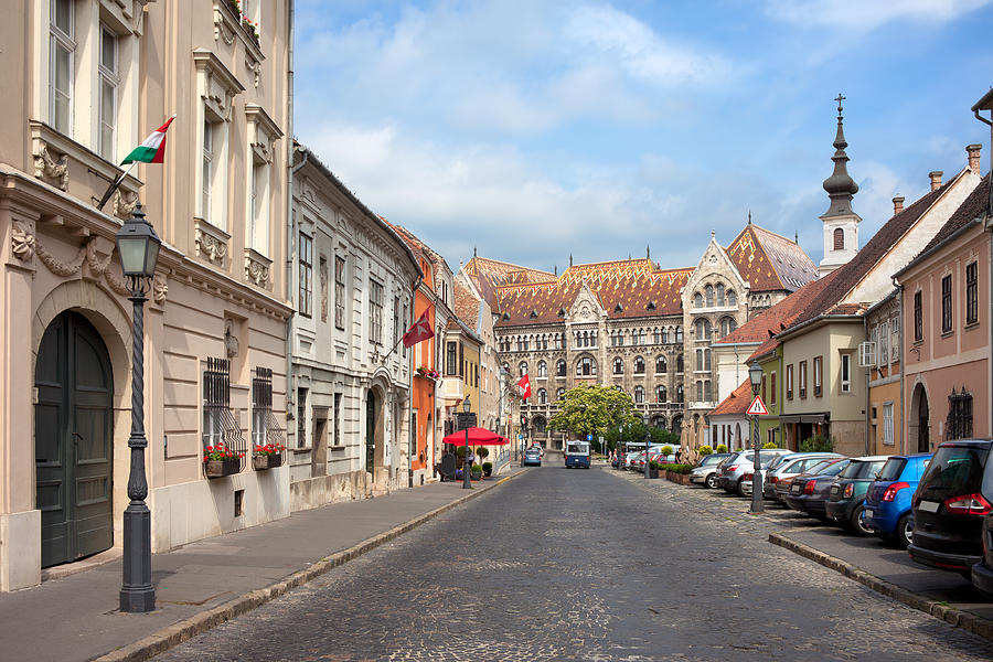 Castle District In Budapest Photograph