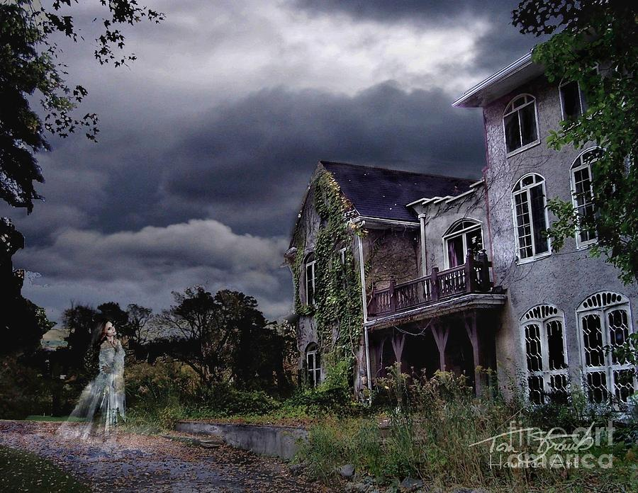 Ghost Photograph - Castle House by Tom Straub