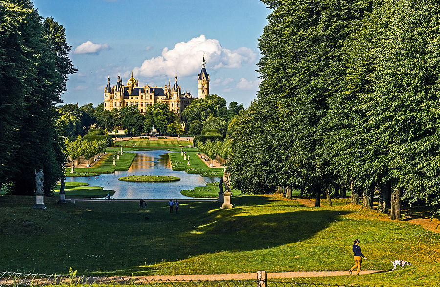 Castle Of Schwerin Landscape Photograph
