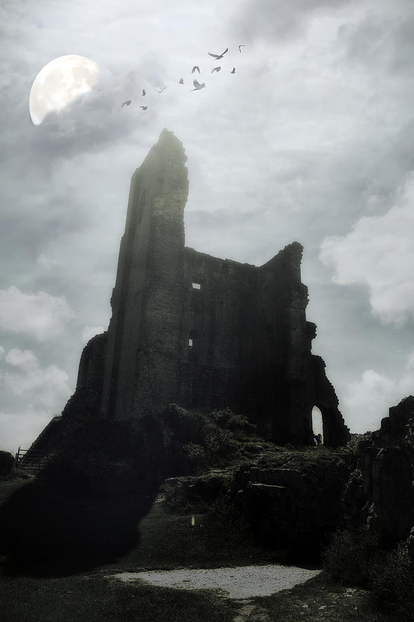 Castle Ruin Photograph