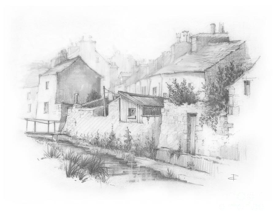 Castletown Sketch Drawing