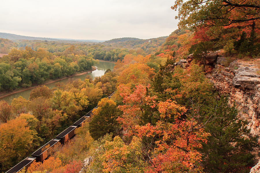 Castlewood State Park Photograph - Castlewood State Park by Scott Rackers