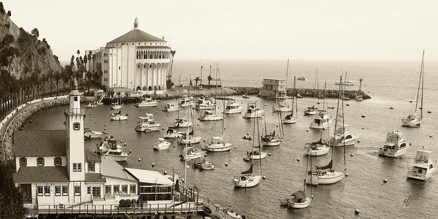 Catalina Island. Avalon Photograph  - Catalina Island. Avalon Fine Art Print