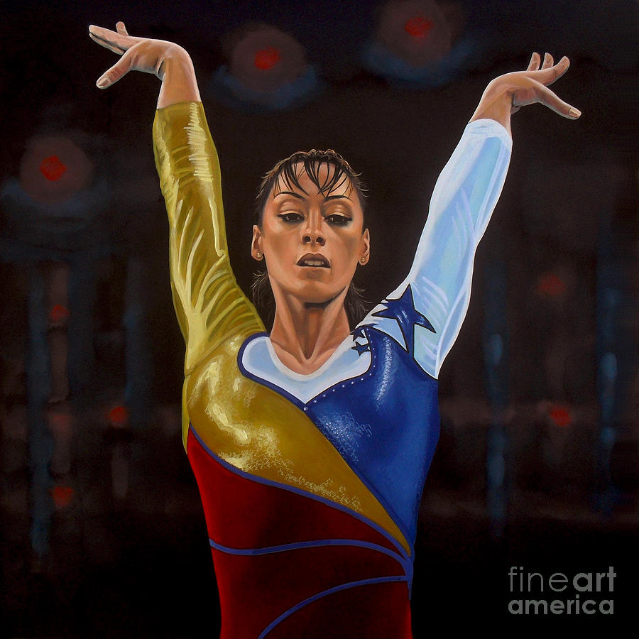 Catalina Ponor Painting  - Catalina Ponor Fine Art Print