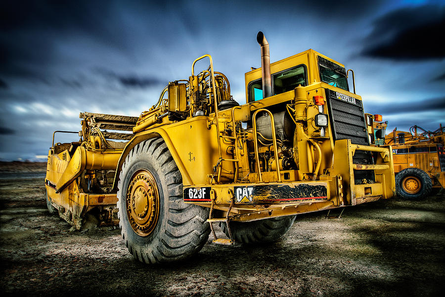 Caterpillar Cat 623f Scraper Photograph