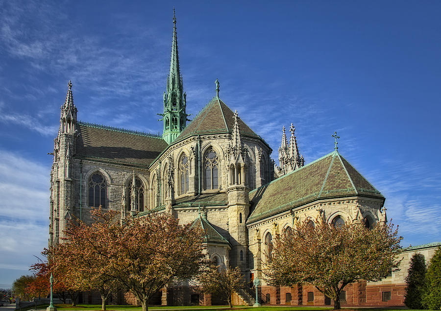 Cathedral Basilica Of The Sacred Heart Photograph
