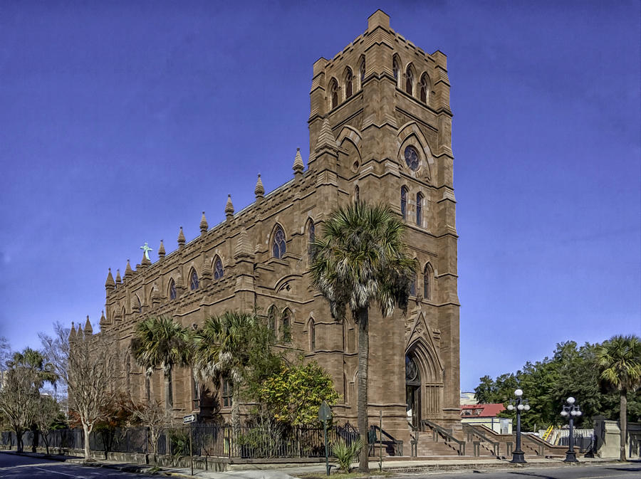 Cathedral Of St. John The Baptist Charleston Photograph