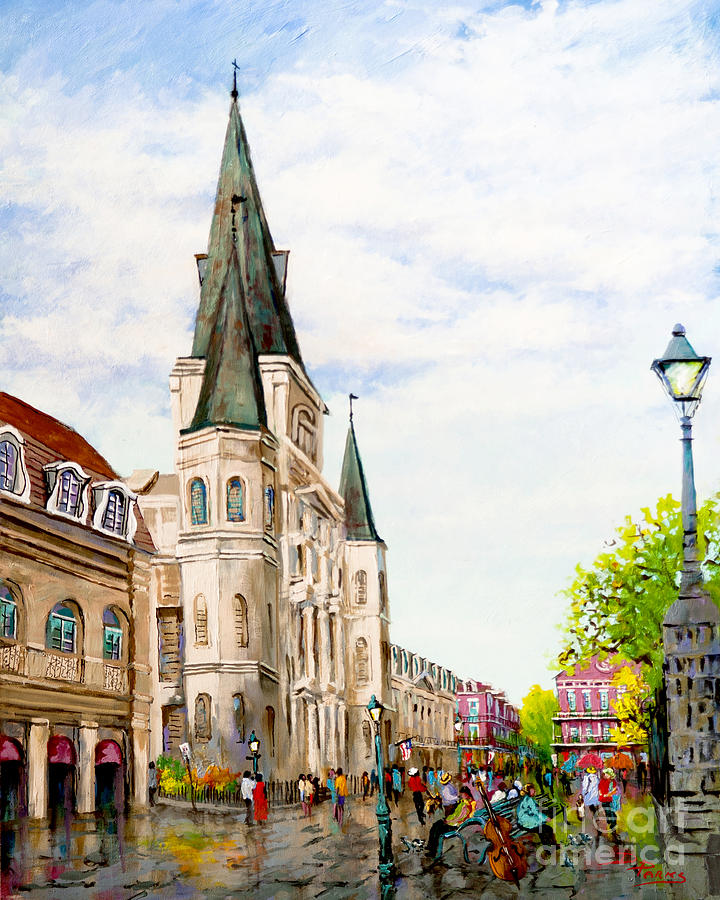 Cathedral Plaza Painting