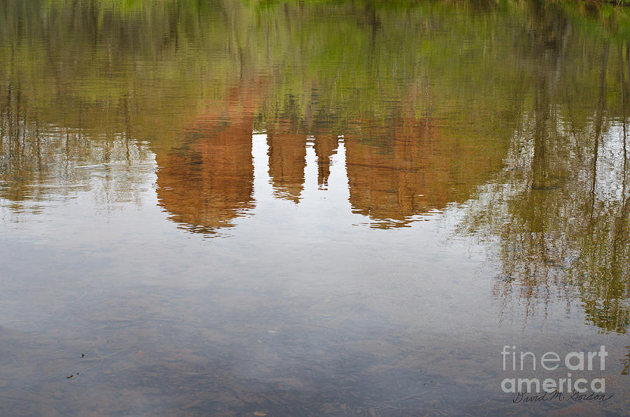 Cathedral Rock Reflections Photograph  - Cathedral Rock Reflections Fine Art Print