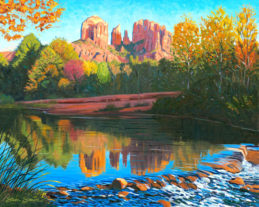 Cathedral Rock - Sedona Painting
