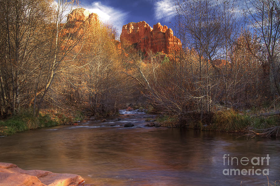 Cathedral Rocks Photograph  - Cathedral Rocks Fine Art Print