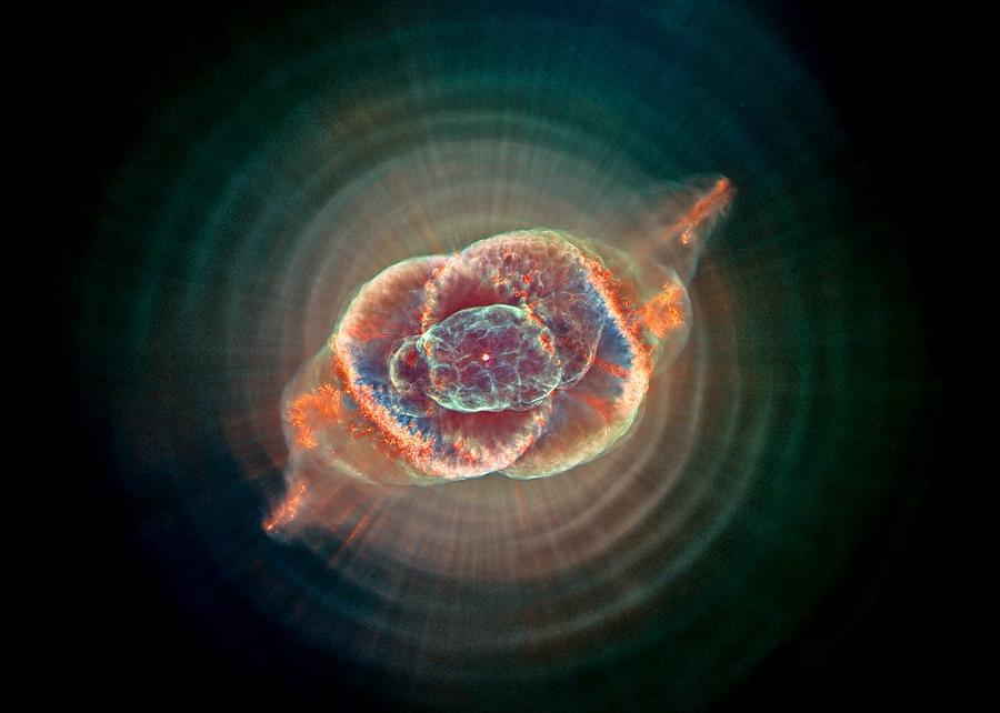 Cats Eye Nebula Photograph  - Cats Eye Nebula Fine Art Print