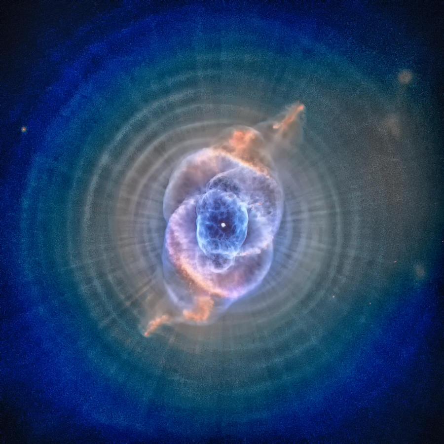 Cats Eye Nebula Photograph