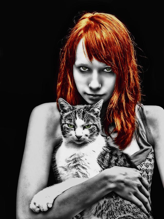 Cat Photograph - Cats by Joachim G Pinkawa