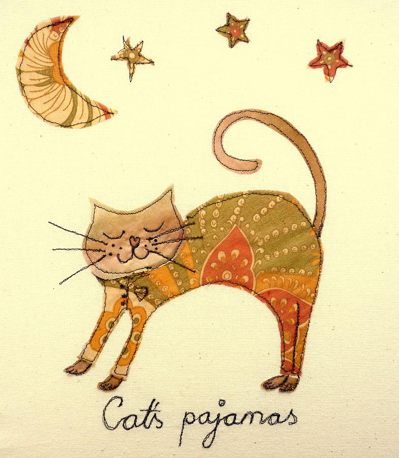 Cats Pajamas Tapestry - Textile  - Cats Pajamas Fine Art Print