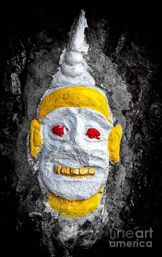 Cave Face 4 Photograph