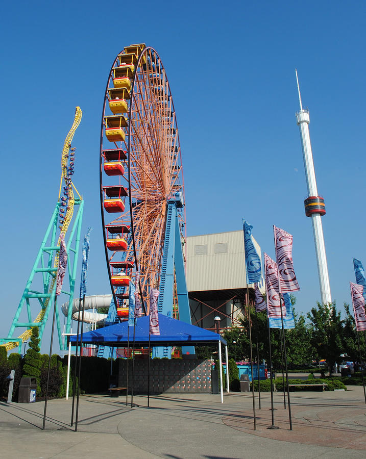 Cedar Point Photograph  - Cedar Point Fine Art Print