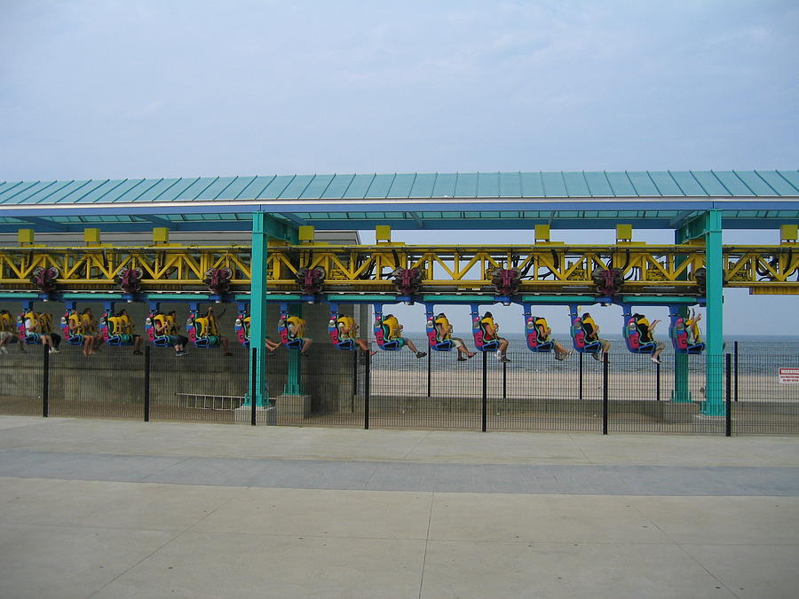Cedar Point - Wicked Twister - 121211 Photograph