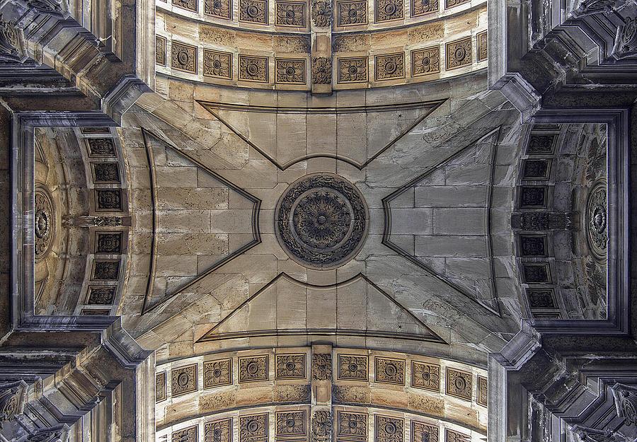 Ceiling  Arcoarua De Augusta Photograph