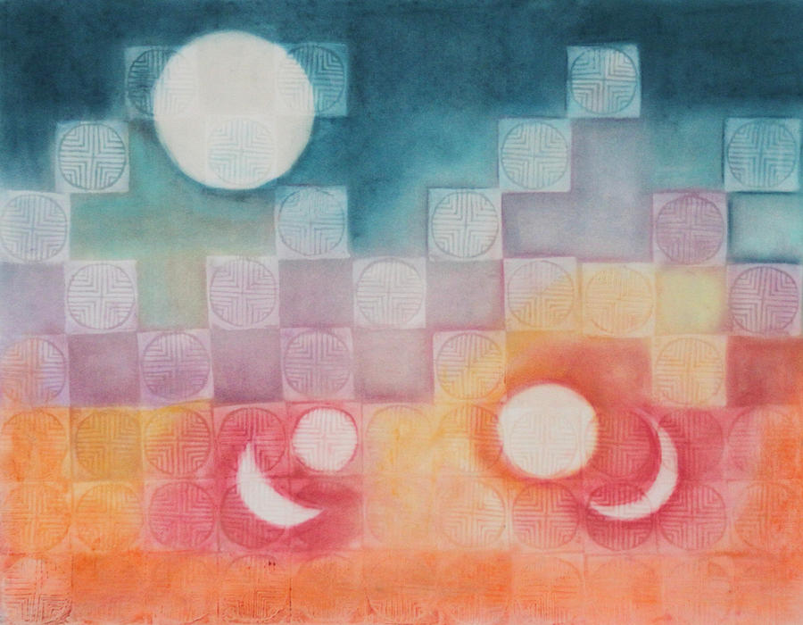 Celestial Matrix Painting