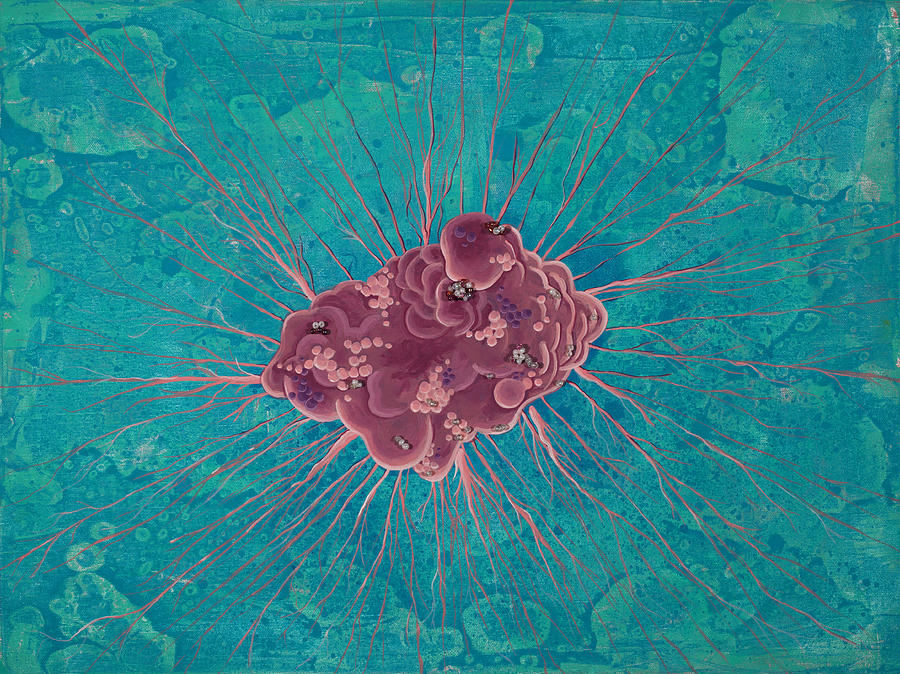 Cell No.15 Painting  - Cell No.15 Fine Art Print