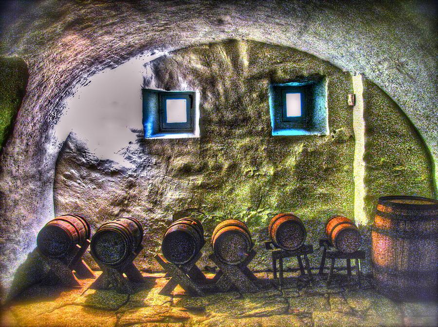 Old Photograph - Cellar Silence by Frank SantAgata