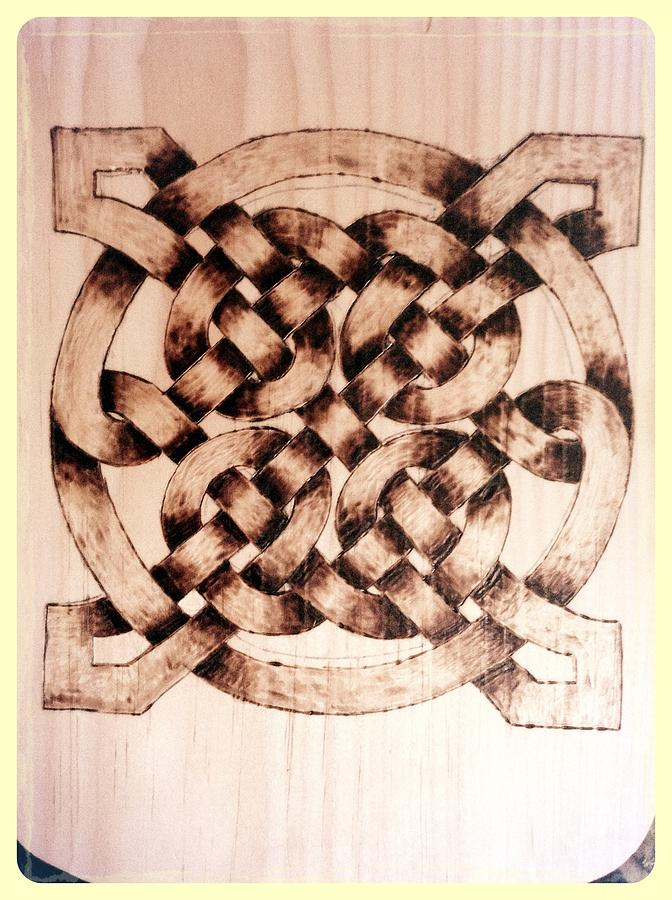 Pyrography - Celtic Knot by The lost Symbol