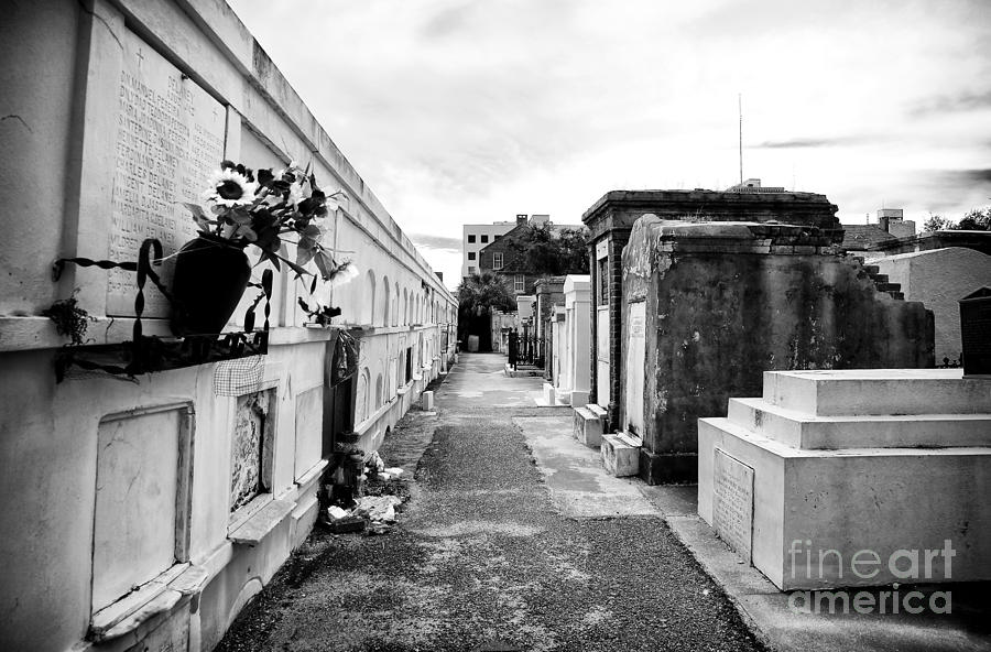 Cemetery Departed Photograph