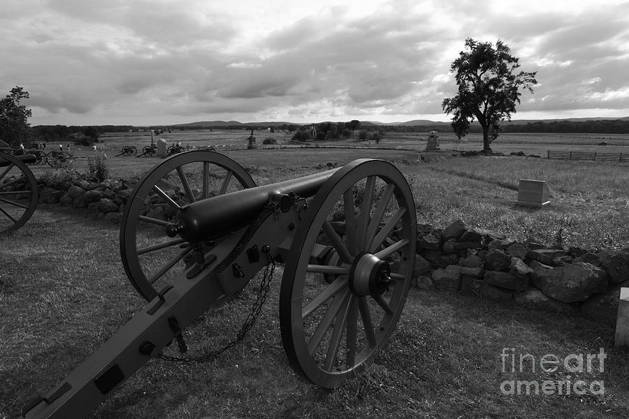 Cemetery Ridge Gettysburg Battlefield Photograph
