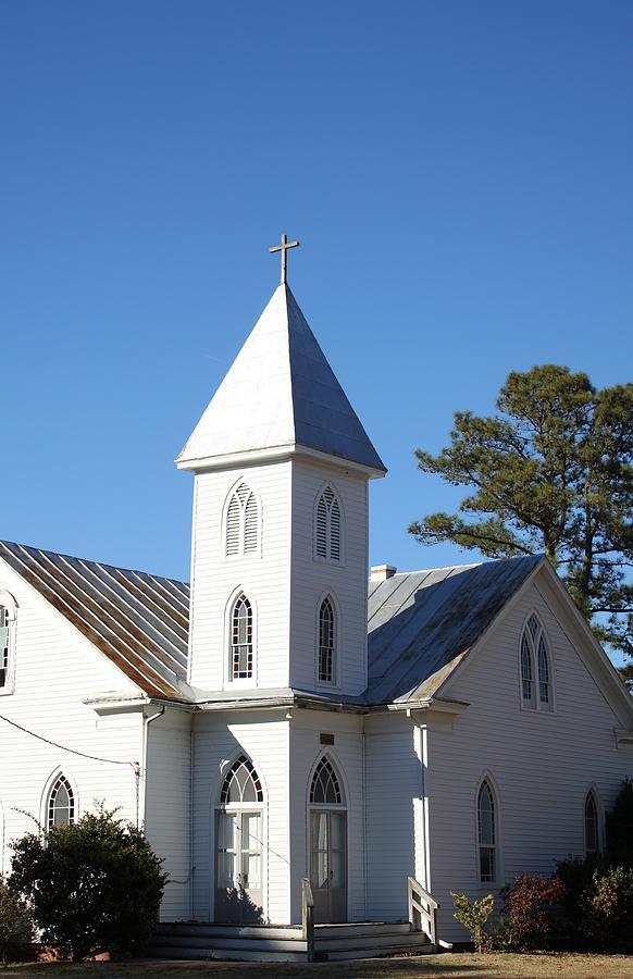 Church Photograph - Center Hill United Methodist Church by Carolyn Ricks