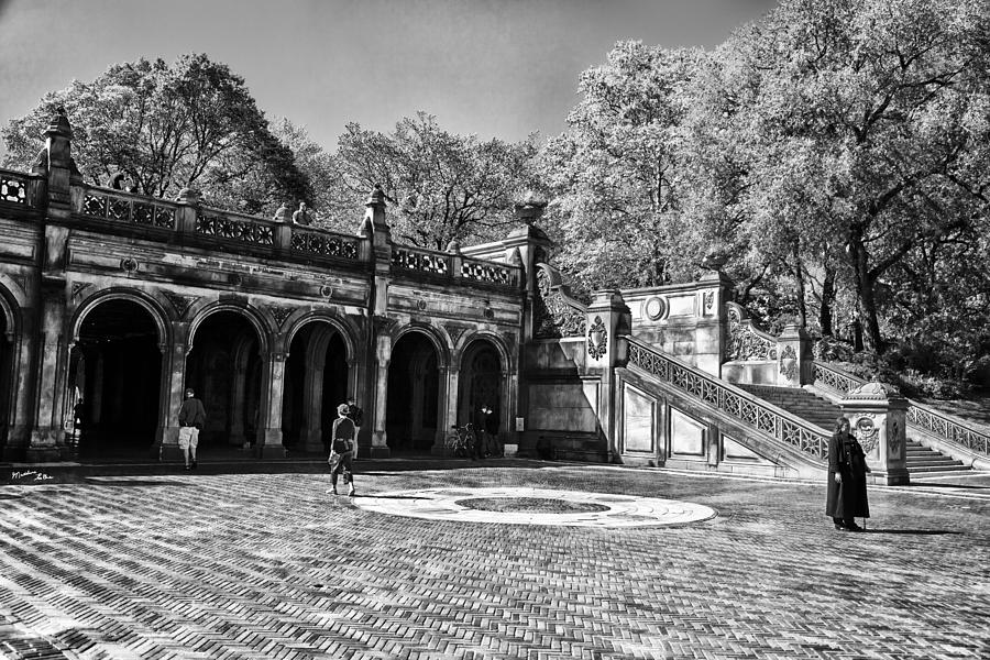 Central Park - Near Bethesda Fountain Photograph