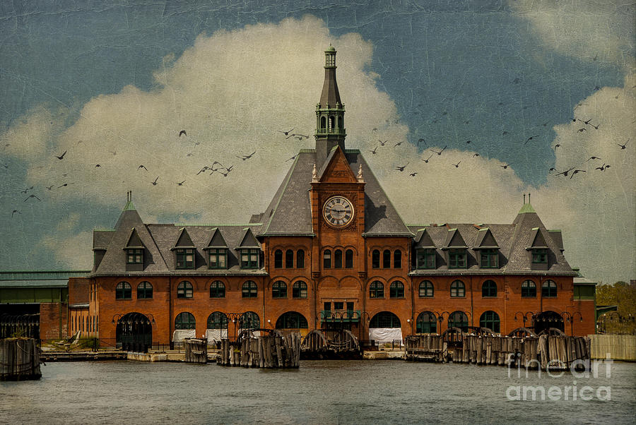 America Photograph - Central Railroad Of New Jersey by Juli Scalzi