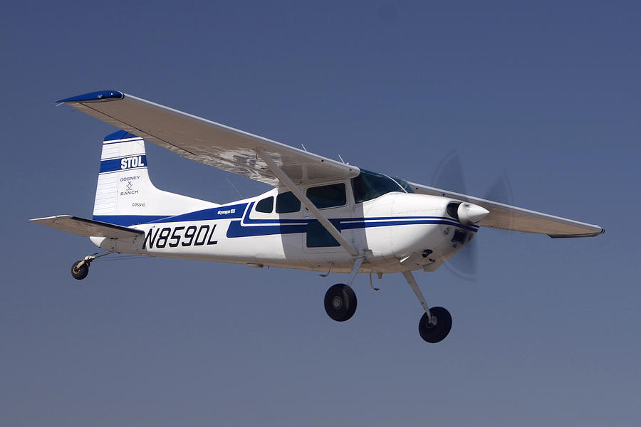 Cessna A185f N859dl Casa Grande March 3 2012 Photograph