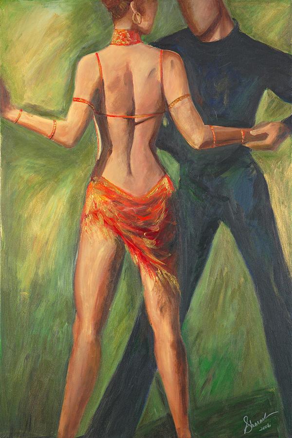 Dance Painting - Cha Cha Cha by Sheri  Chakamian