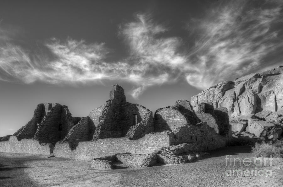 Chaco Canyon Pueblo Bonito Photograph
