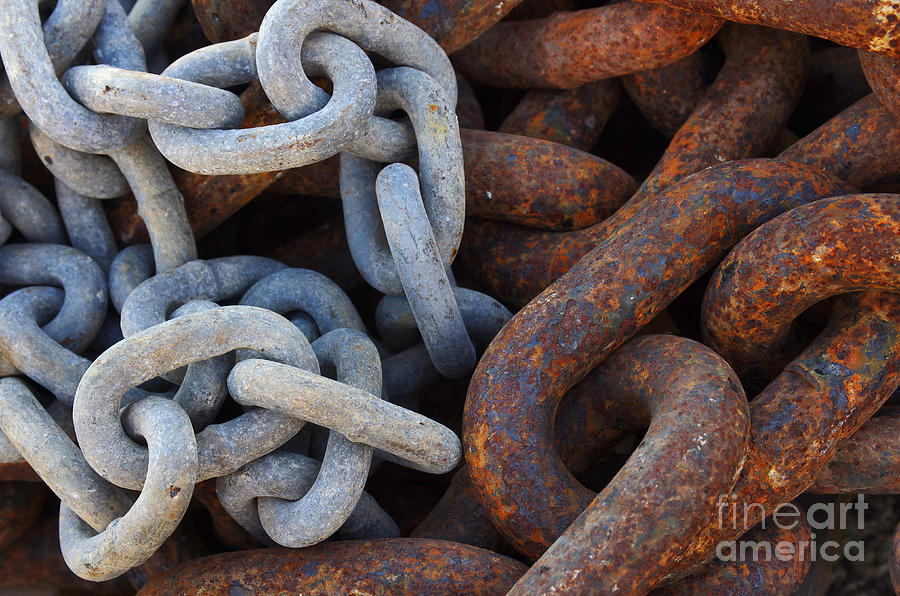Chain Links Photograph