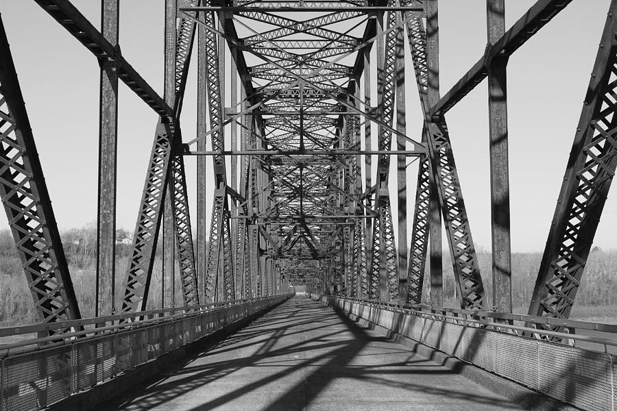 Chain Of Rocks Bridge Photograph  - Chain Of Rocks Bridge Fine Art Print
